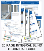 integral sealed unit blinds technical guides and brochures