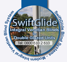 SwiftGlide In2Glass Integral Venetian Sealed units blinds - Contact Us